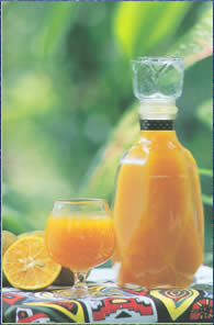 น้ำส้มคั้น