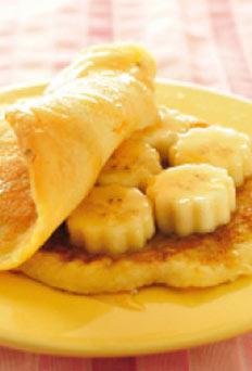 แพนเค้กกล้วยหอม